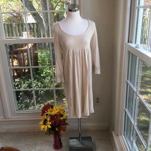 Rebecca Taylor Adorable Beige Dress